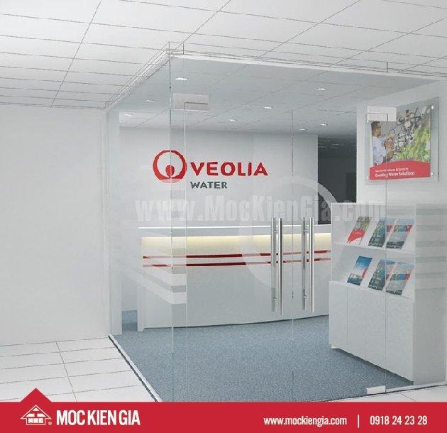<span>Dự án nội thất Văn phòng</span> Veolia Tân Bình