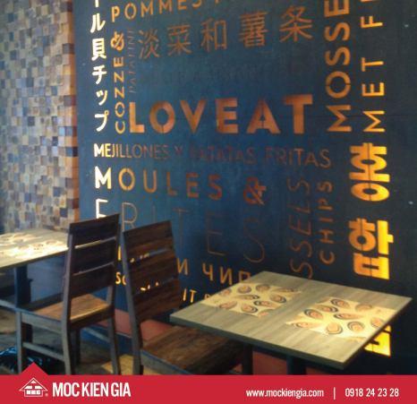 <span>Dự án  Nhà hàng cafe </span>LovEat