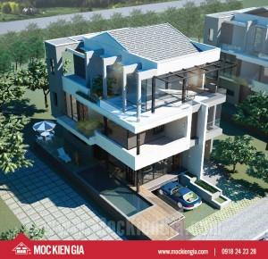 Dự án thiết kế và xây dựng biệt thự