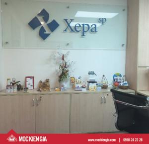Thiết kế nội thất văn phòng XEPA