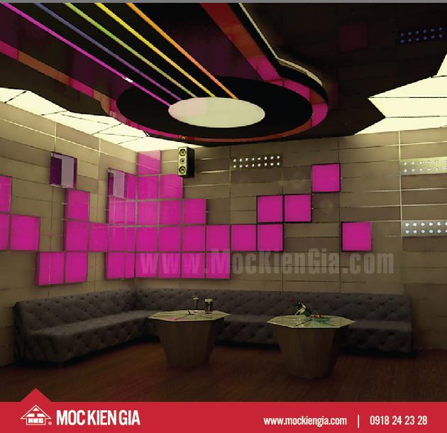 Dự án thiết kế nội thất karaoke