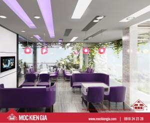 Dự án thiết kế thi công nhà hàng cà phê