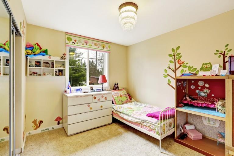 Cách trang trí phòng cho bé
