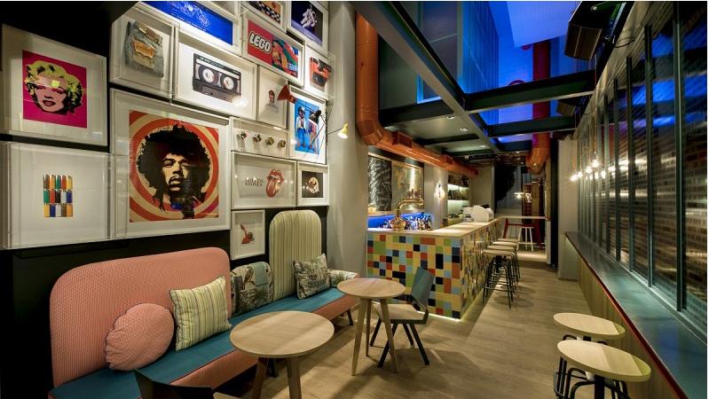 Thiết kế nội thất quán cafe độc lạ