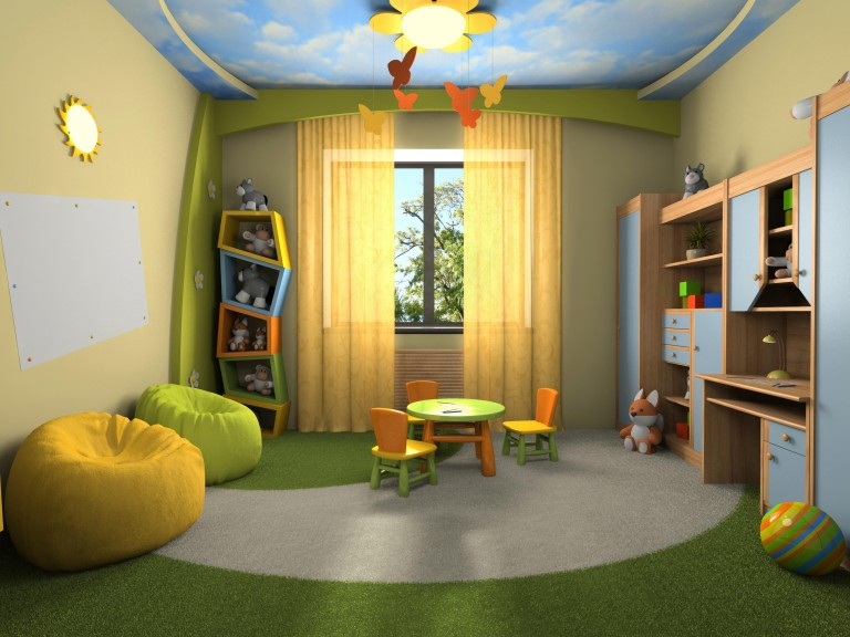 Trang trí phòng cho bé